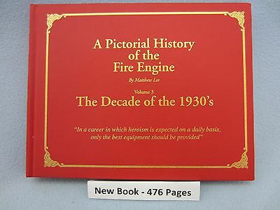Fire engine of the 1930s - book