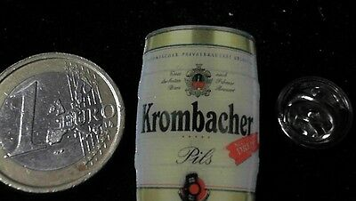 Bier Beer Pin Badge Krombacher 5 Liter Fass Logo