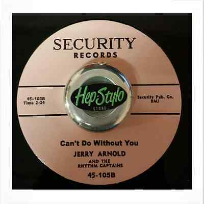 Jerry Arnold 45 Re- Can't Do Without You -Unissued 50S Texas Rockabilly Listen!!