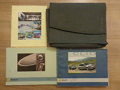 Renault Clio Owners Handbook Manual and Pack 05-09