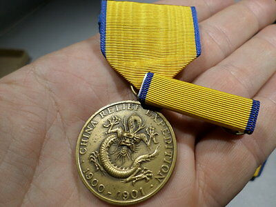 1900 1901 US Army China Relief Expedition Medal Restrike