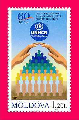 MOLDOVA 2011 UNHCR (UN High Commissioner for Refugees) 60th Ann 1v Mi 776 MNH