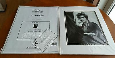 Bob Dylan 8 x 10 photo icon collectibles OFFICIALLY LICENSED w/ COA young man