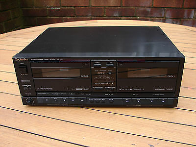 Technics RS-X101 Double Cassette Deck Player Recorder Dolby B & C Global Ship