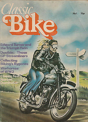 Classic Bike Magazine - Issue No.1 - First Issue - March 1978