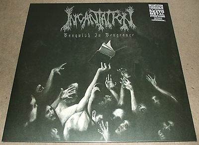 Incantation-Vanquish In Vengeance-2012 Lp Vinyl-Limited To 250-Sealed/new
