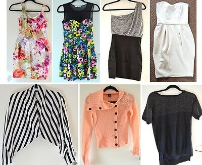 JOB LOT CLOTHES! Dresses, skirts, shirts, NEW LOOK, ATMOSPHERE. CHEAP!