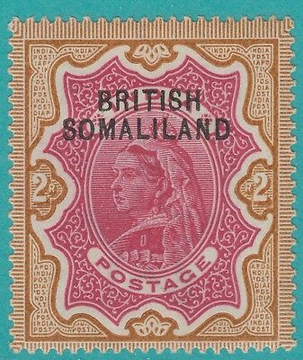 Somaliland 11 2 Rupee  1903 Mint Hinged Og * No Faults Extra Fine !