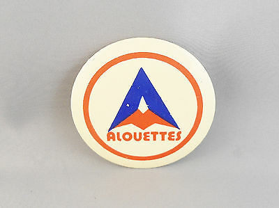 """Vintage Montreal Alouettes 3"""" Button Canadian Football"""