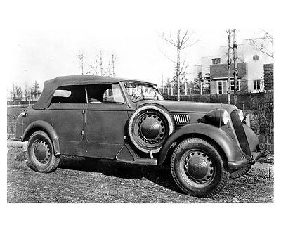 1939 Alfa Romeo Tipo ORIGINAL Factory Photo ouc0544