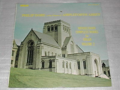 Philip Dore Organ Of Ampleforth Abbey Mendelssohn Works For Organ Vol 2 LP Ex/Ex