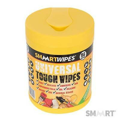 Smaart Universal Tough Wipes Pack Of 90