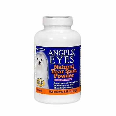 Angels Eyes Natural Dog & Cat Tear Stain Remover Coat Powder 150g Chicken