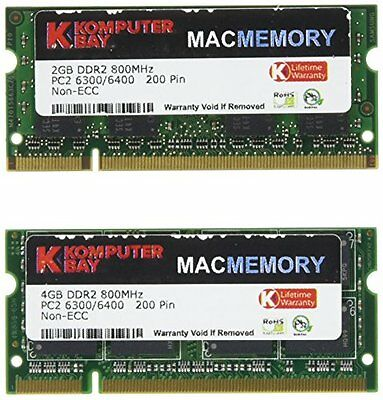 KB_MASTER_SODIMM_800 (4GB + 2GB) for Apple