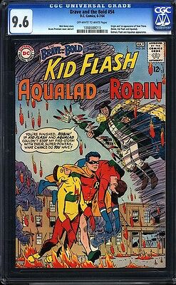 Brave and the Bold 54 CGC 9.6 OWW Highest Graded 1st Teen Titans IGKC L@@K