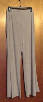 M by Marc Bouwer Pull-on Knit Pants, Taupe, Size Small
