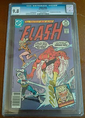 Flash 250 Cgc 9.8 Ow/w Pages First Appearance Golden Glider Lisa Snart New Movie