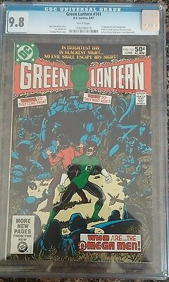 Green Lantern 141 Cgc 9.8 White Pages First Appearance Omega Men