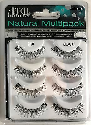 100% Authentic ARDELL Natural Multipack 110 Black 61407 + Free Shipping