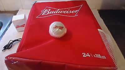 Budweiser LOT insulated BACKPACK BEER bag , & Budweiser  Bluetooth mini speaker