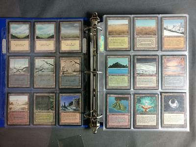 Magic The Gathering French Beta Revised Set FBB Black Border Dual Lands MTG NM/M
