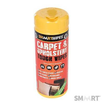 Smaart Tough Carpet & Upholstery Wipes Pack Of 40