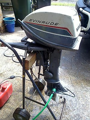 6hp Evinrude x2 Outboards