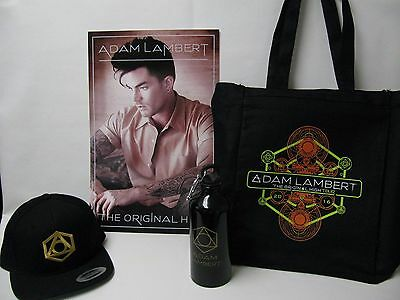 2016 Adam Lambert The Original High VIP ticket concert tour merchandise