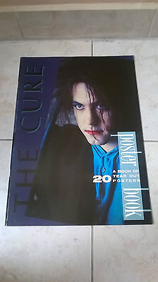 The Cure Rare Book Of 20 Tear Out Posters Uk 1987 Atalanta Press Magazine
