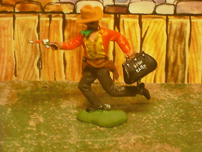 Soldatini Toy Soldiers Britains LTD Swoppet Bandito Far West plastica 1:32