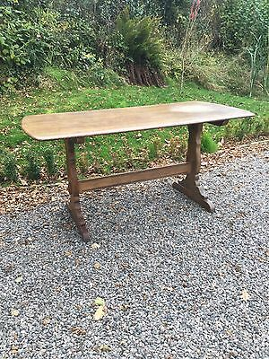 Vintage Oak Refectory Dining Table