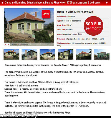 Cheap Bulgarian house for Sale with a garden, payment plan option, no interest
