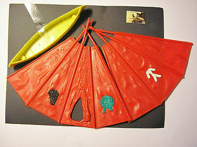 Soldatini toy soldiers Timpo Toys  Tepee & Canoa scala 1:32 #A