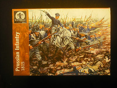 Soldatini Toy Soldiers Waterloo 1815 Prussian Infantry Napoleonic Wars 1:72
