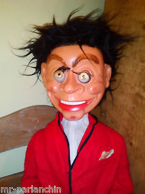 PETER PATTER puppet ventriloquist doll rare fully working Mr Parlanchin