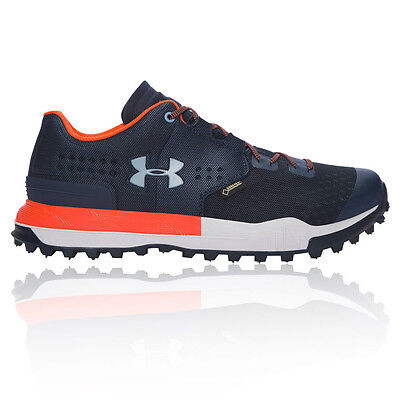 Under Armour Newell Ridge Bajo Hombre Azul Impermeable Gore Tex Hiking Zapatos