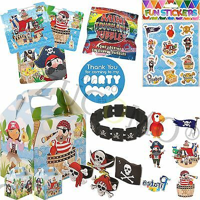 Pirate Party Bag & Fillers Pre Filled Boys Girls Birthday Party Bags For Kids