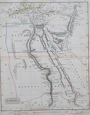 Map of Ancient Egypt. 1845. J Arrowsmith. AFRICA. CARIO.