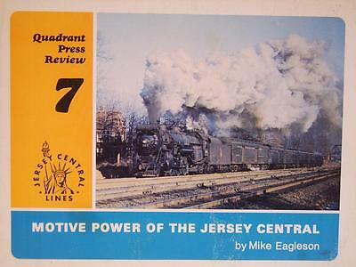 Motive Power Of The Jersey Central by Mike Eagleson
