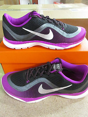 cfe77f4359f Nike Womens Flex Trainer 6 Print Running Trainers 831578 005 Sneakers Shoes