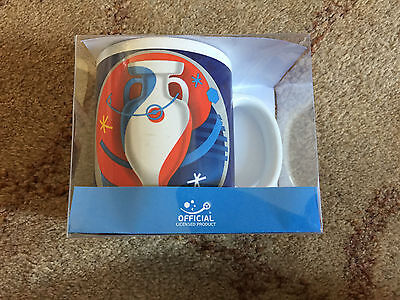 UEFA Euro 2016 France Blue Mug Official Licensed Product / New & Sealed