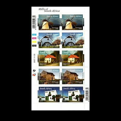 South Africa 2007 outh African Mills Sheet. MNH