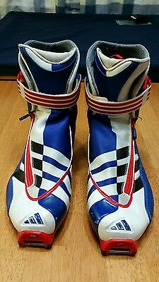Adidas  skating cross country ski boots, size 7