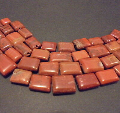 LOT 10 PERLES PIERRE NATURELLE JASPE ROUGE 10 mm NATURAL STONE BEADS RED JASPER