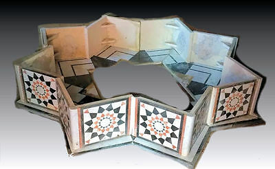 Large Middle Eastern Syrian Marble Fountain