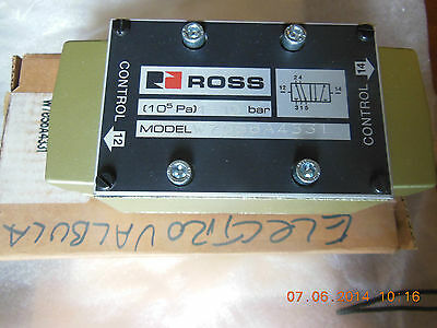 Ross  , Series W70 Pneumatic Valve, P/n W7056A4331  Without Base