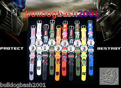 Transformers Childrens Watch, Uk Seller, Plus Free Gift, Fast Dispatch