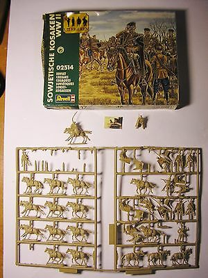 Soldatini toy soldier Revell Kit Montaggio Kosacchi  WWII Ref 2514 Sc.1:72