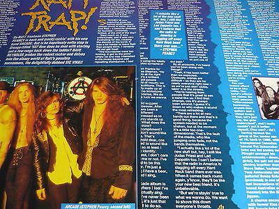 Ratt - Magazine Cutting (2 Page Interview) (Ref 1E)