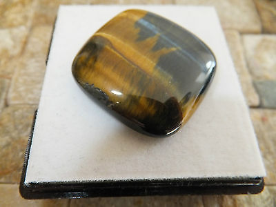 TIGERS EYE QUARTZ AFTER CROCIDOLITE NATURAL MINED 44Ct  MF5096